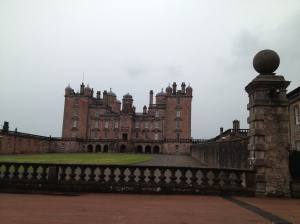Drumlanrig Castle in the south of Scotland