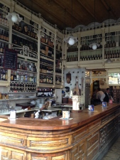 The main bar at El Reconcillo, Seville