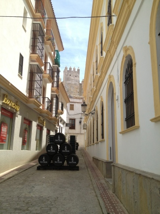 Streets of the old quarter, Tarifa