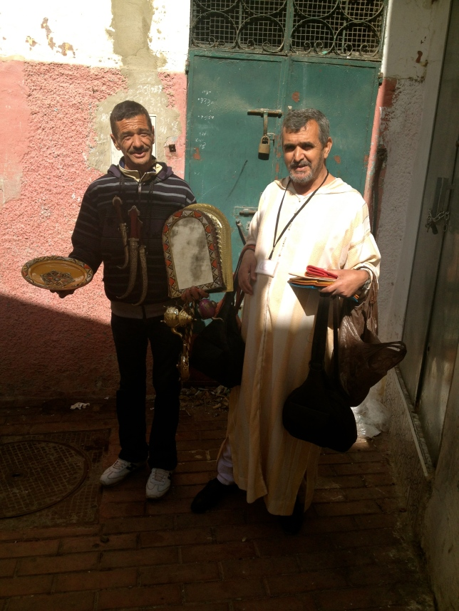 Street vendors, Tangiers
