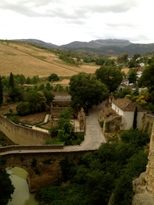 One of two older bridges, Ronda