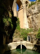 The 'new bridge' of Ronda, built in 1751