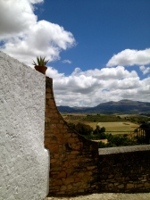 Views of the countryside from Ronda