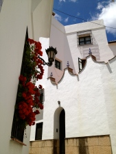 Ronda is well known for it's balconies and window boxes