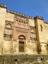 The Mezquita of Cordoba, which was repurposed from a mosque to a cathedral.