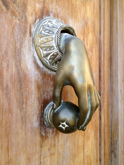 The ultimate door handle, in Valencia.