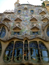 The Batilo House, built by Guadi in Barcelona
