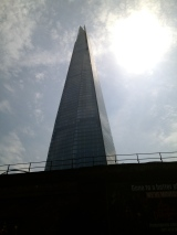 Another new addition to the London skyline since I last visited - The Shard.