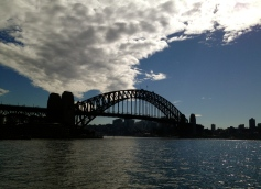 This view of the Sydney Harbour Bridge just never gets tired.
