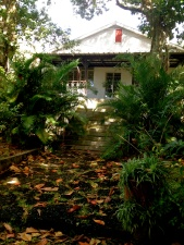 The house where Mr C lived as a child with his grandfather on the cane sugar plantation.