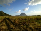 This hill marks the most western point of Mauritius, which is in the south. We were told that former slaves hid out on the hill and refused to come down after slavery was abolished out of fear that it wasn't true.