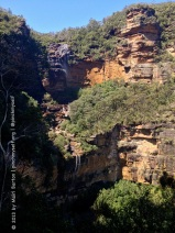 This shot shows both the Upper and Lower Wentworth Falls.