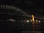 Sydney Harbour Bridge and Sydney Opera House.